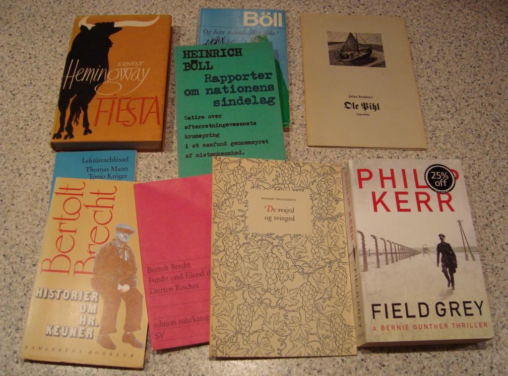 Bøger af Brecht og Böll kan man aldrig få nok af.