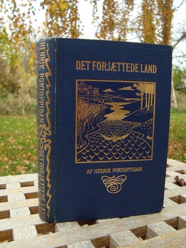 Det forjættede land, udgivet i 1892 af P.G. Philipsens Forlag.
