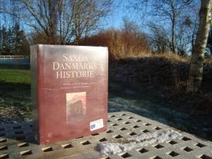 Saxos Danmarkshistorie stadig indpakket.