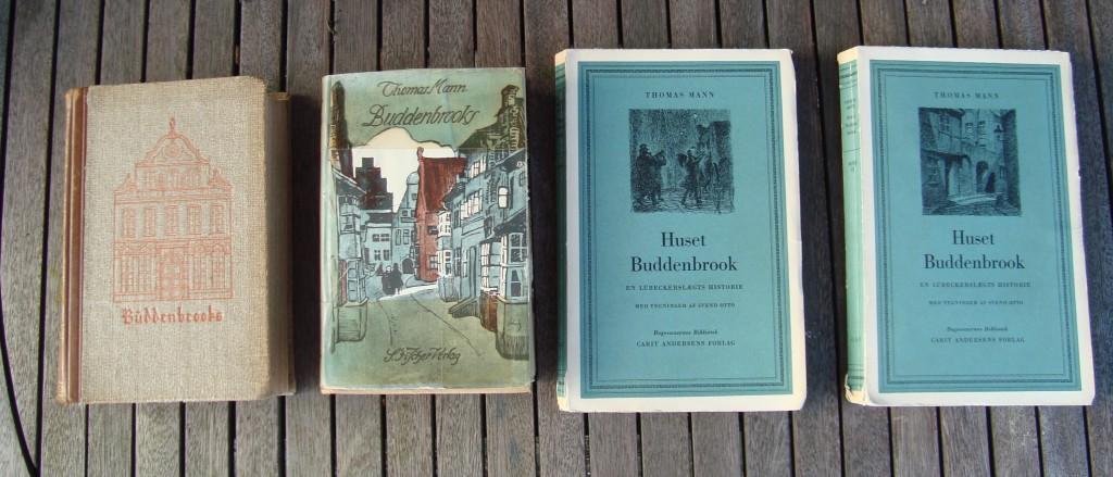 Mine lille samling af eksemplarer af Huset Buddenbrook eller på tysk: Buddenbrooks