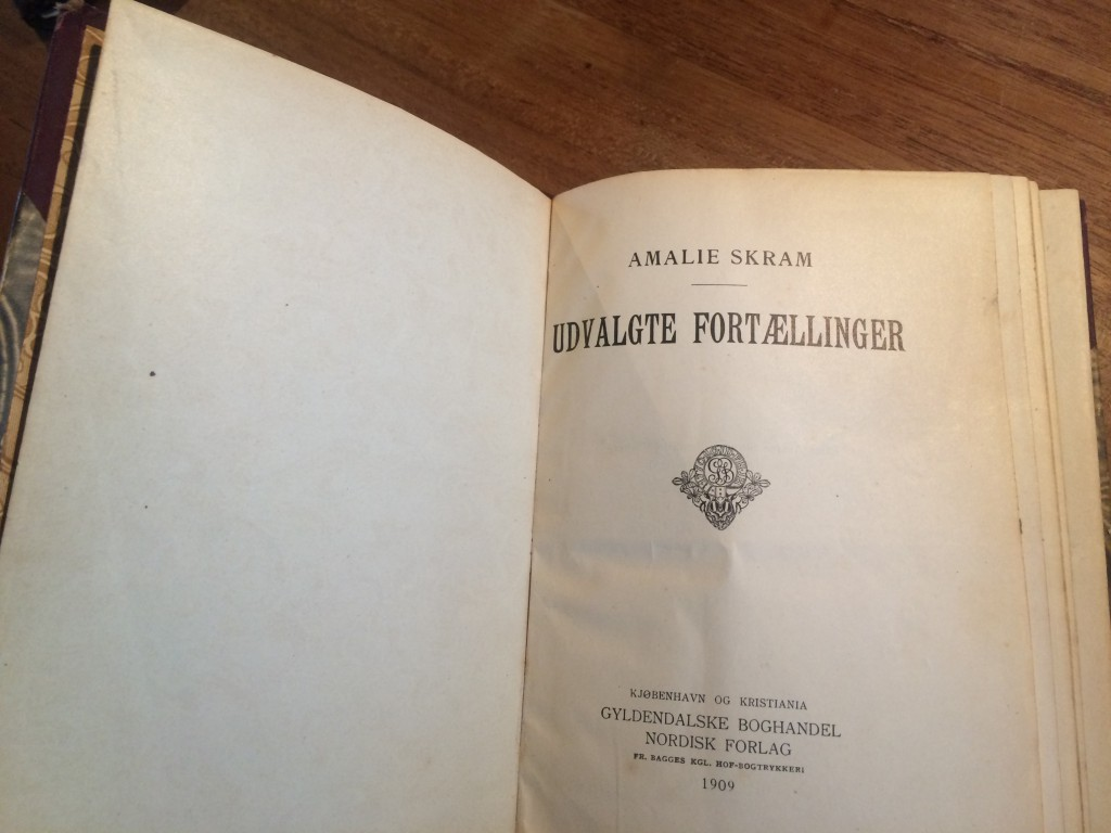 Amalieskram.noveller